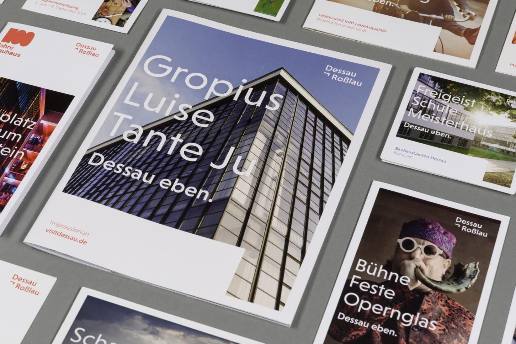 Dessau-Rosslau Corporate Design Cover