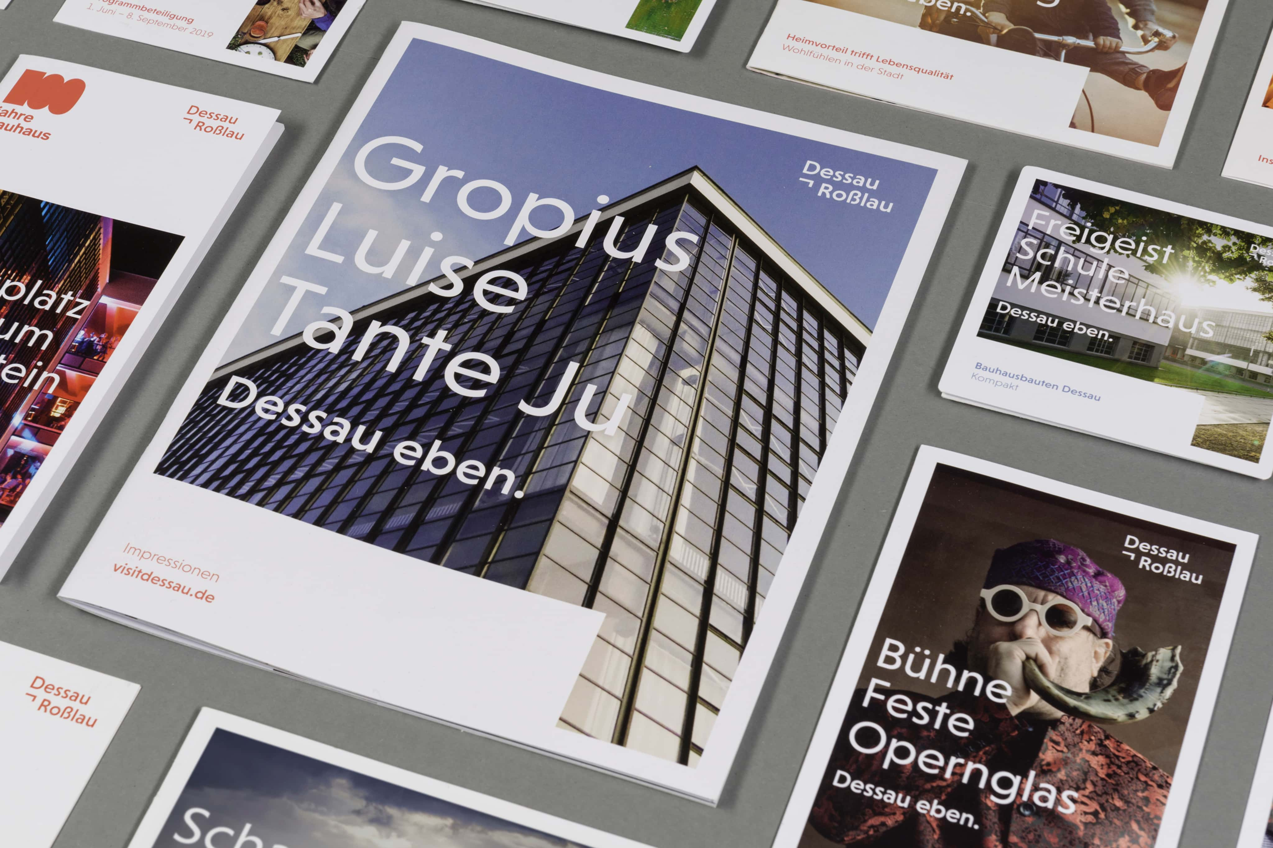 Dessau-Rosslau Corporate Design Cover