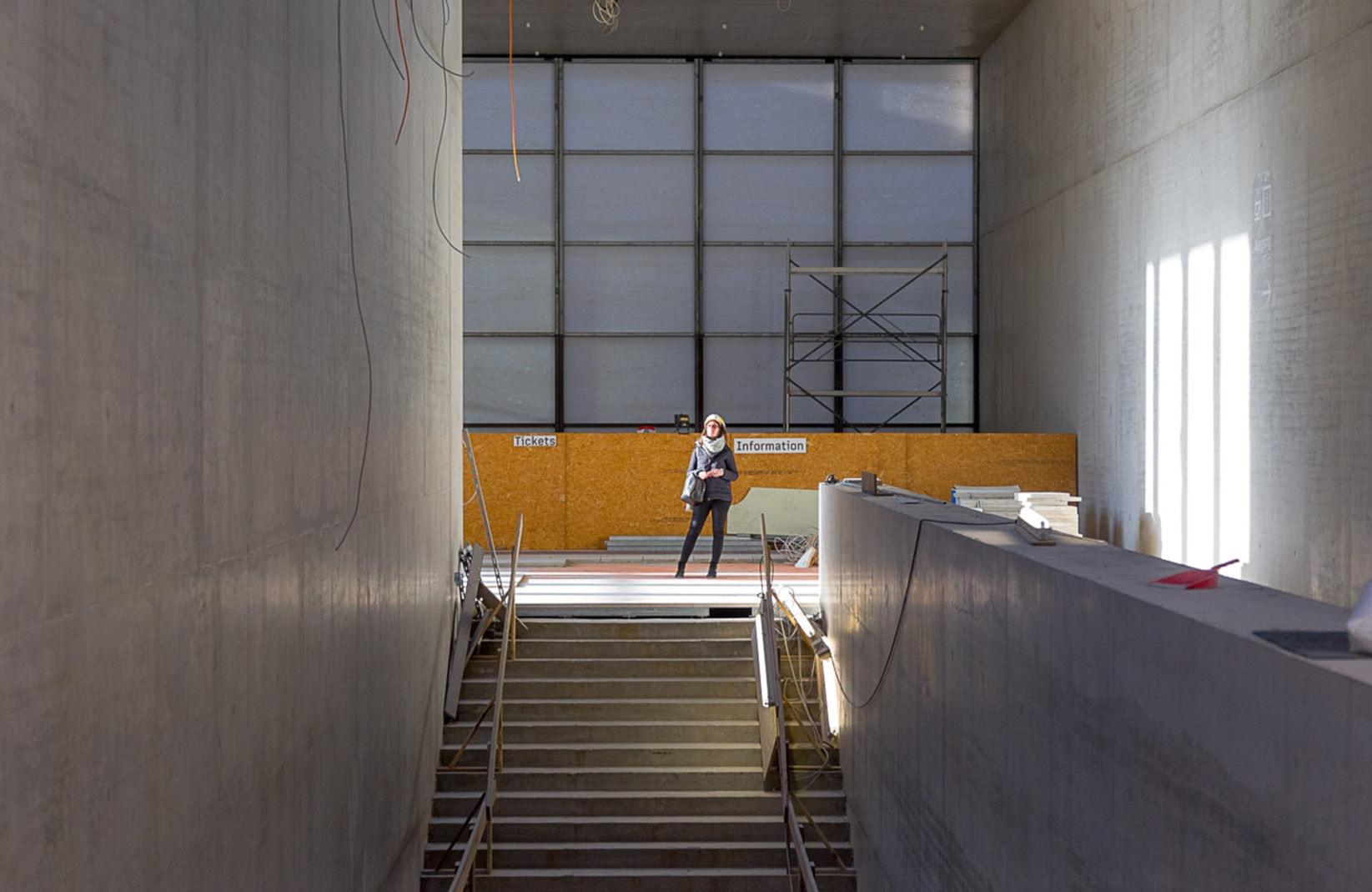 James Simon Galerie Evaluierung Treppe