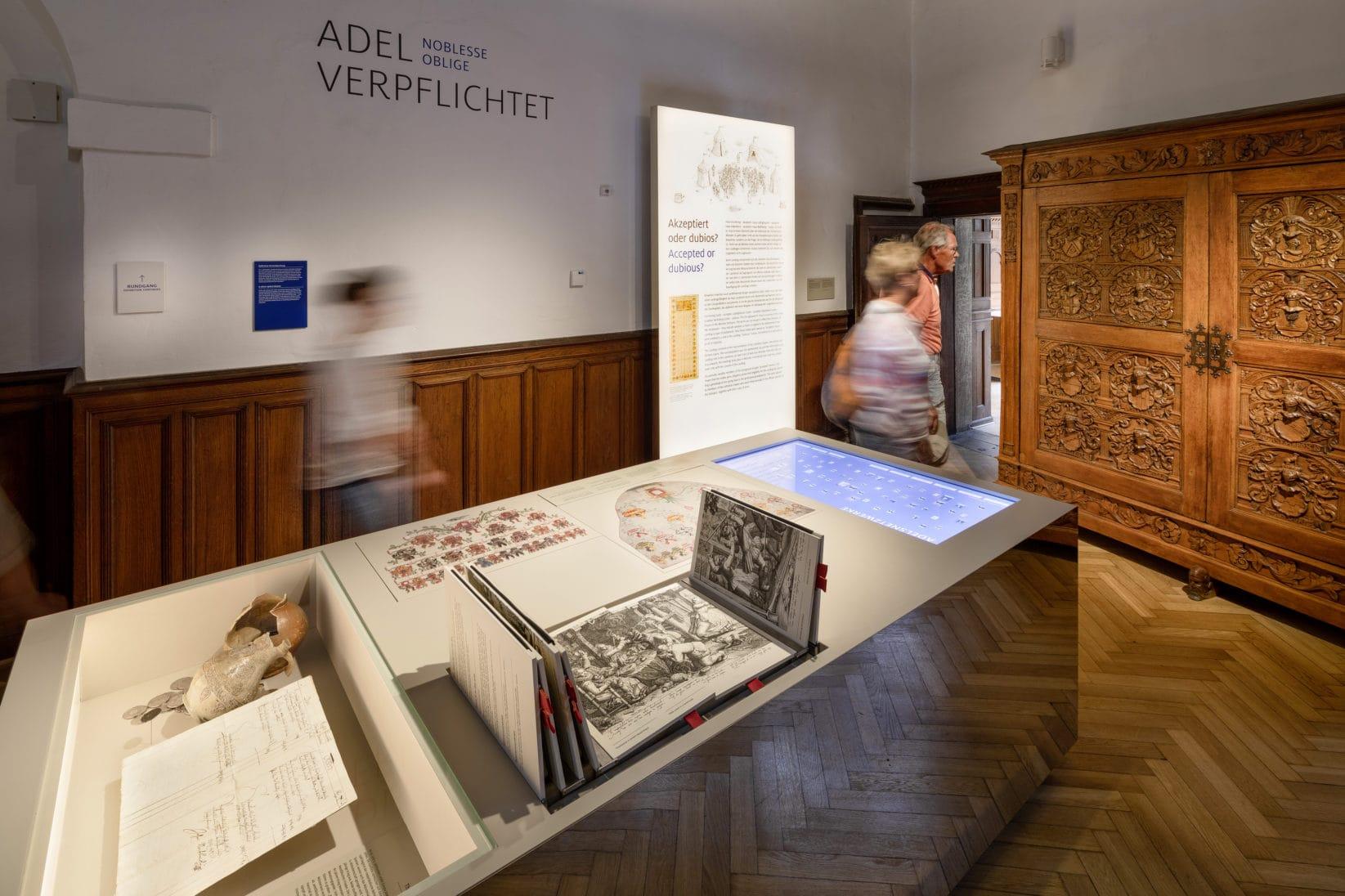 Ausstellung BurgVischering Ausstellungsraum