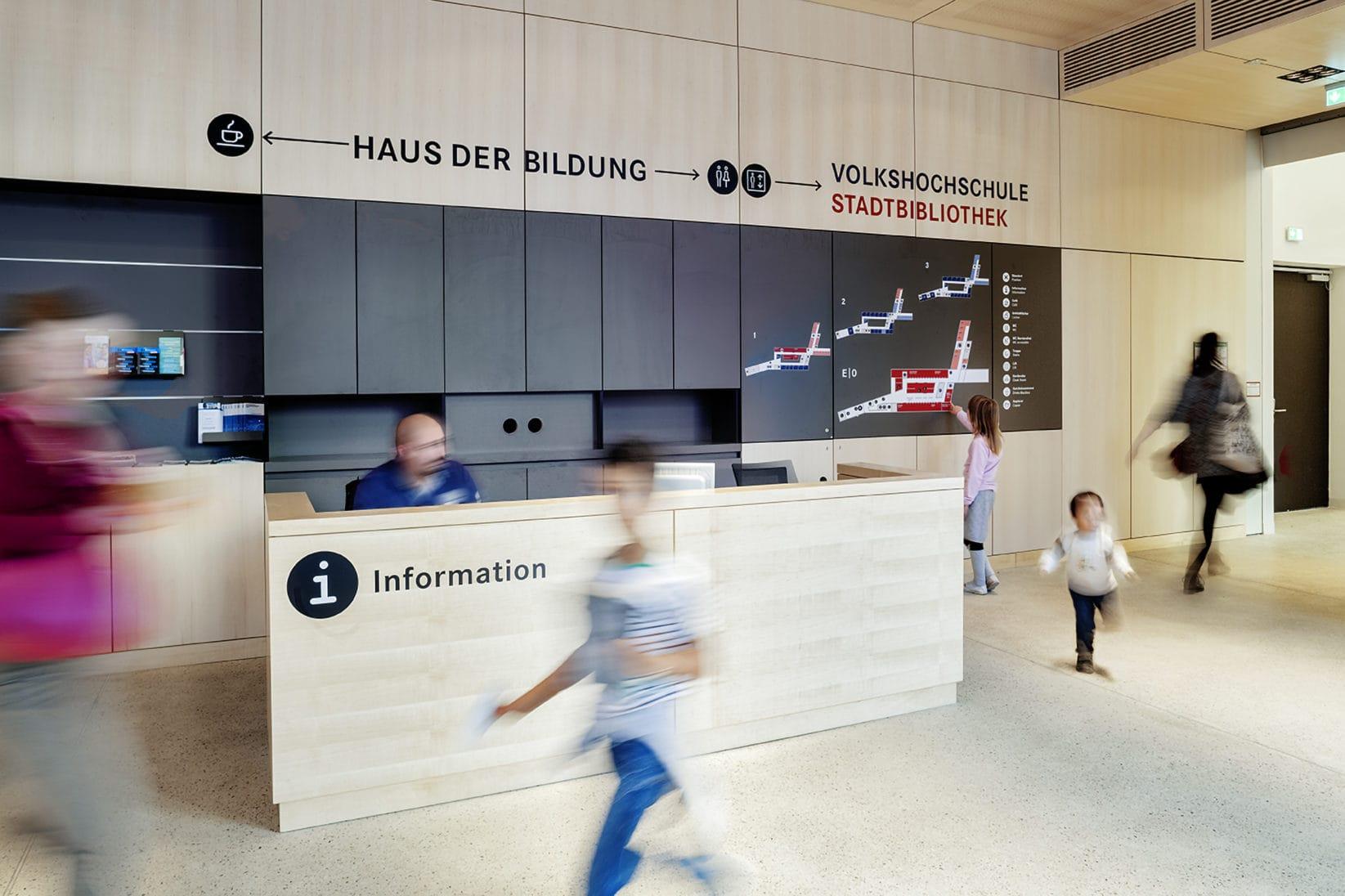 Haus der Bildung Information