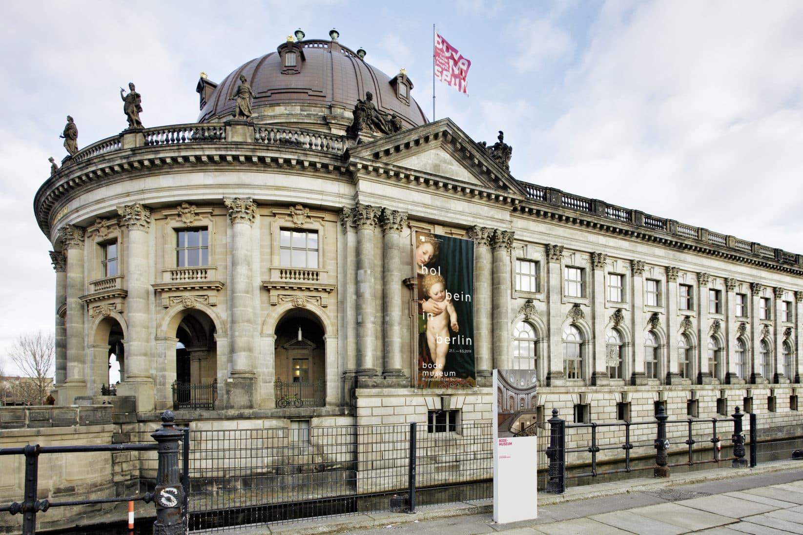 Museumsinsel Berlin Bode Museum Banner