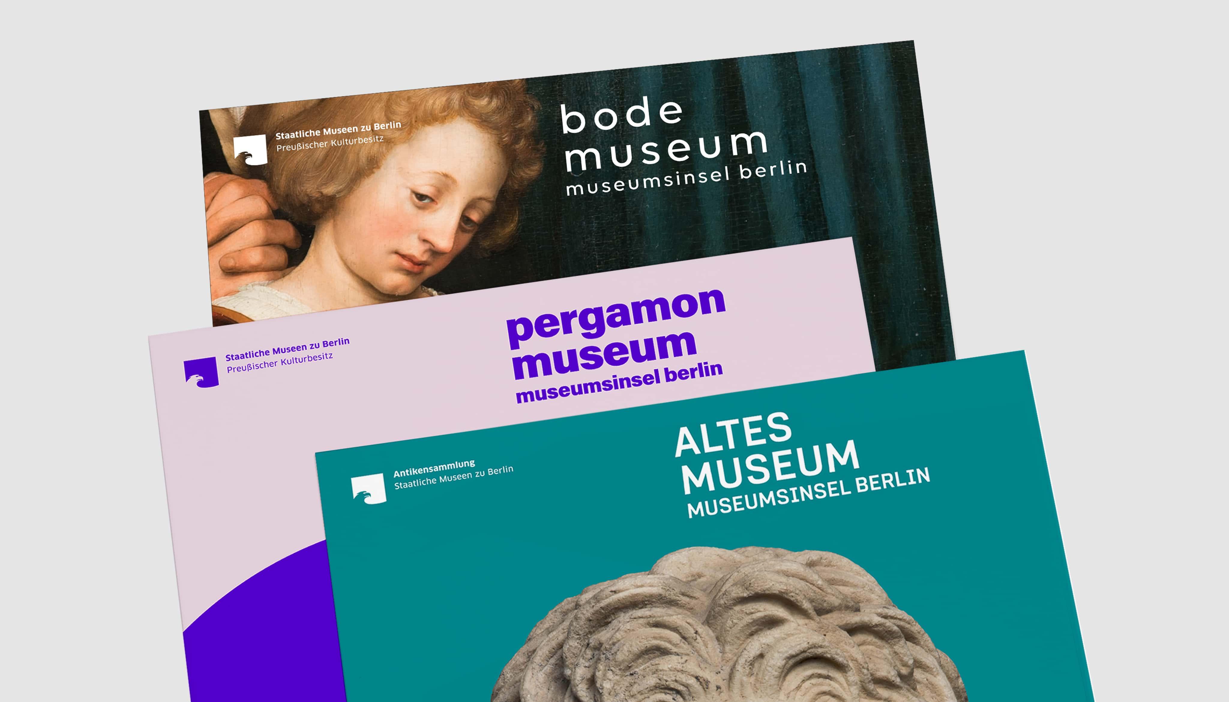 Bode Museum Pergamon Museum Altes Museum Poster
