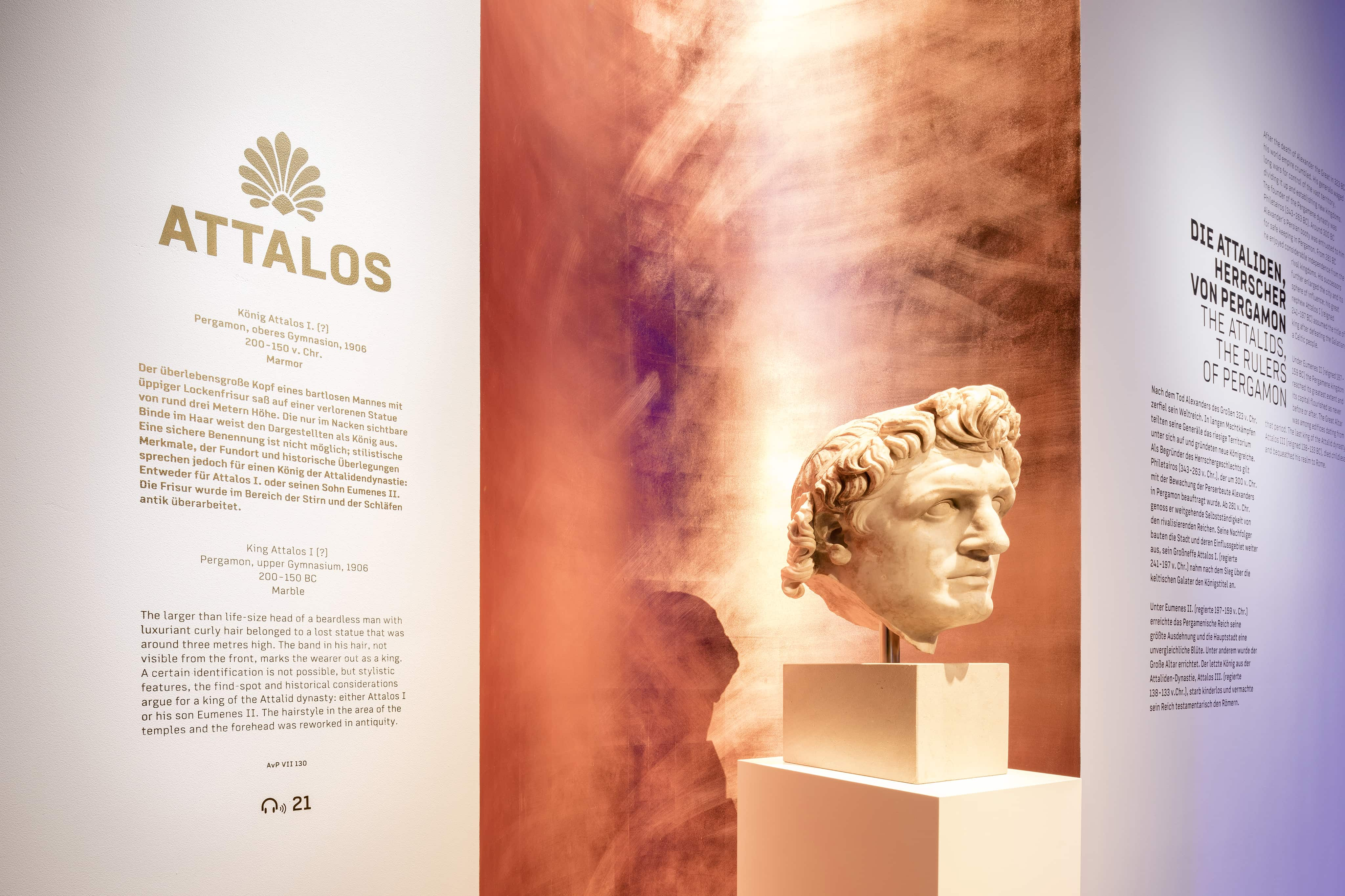 Museumsinsel Berlin Pergamon Ausstellung Panorama Attalos