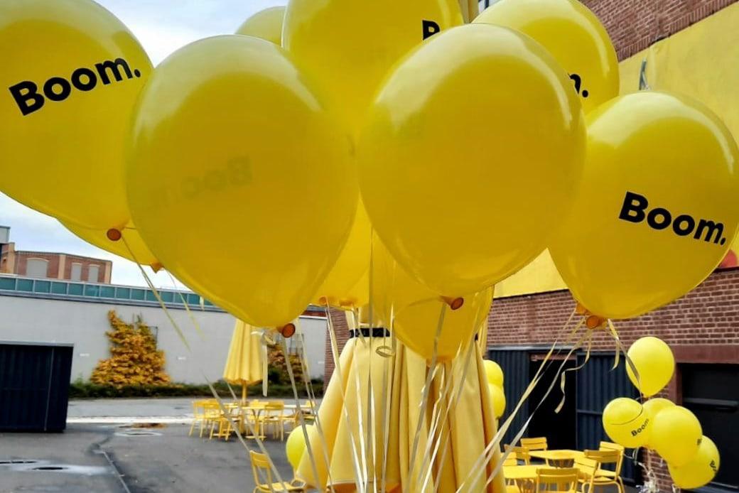 Boom.Sachsen Luftballons