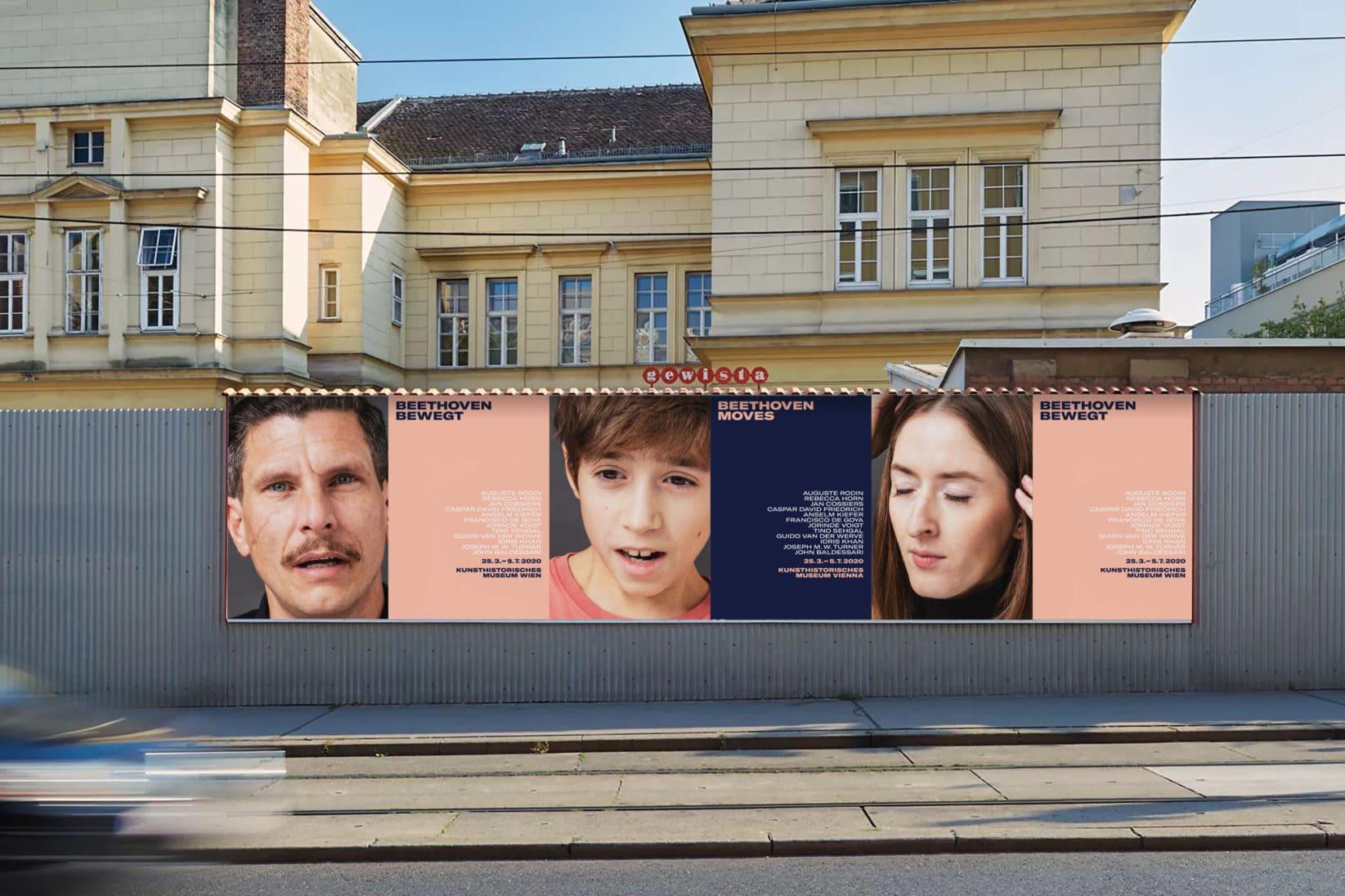 Kunsthistorisches Museum Wien Beethoven Plakatkampagne