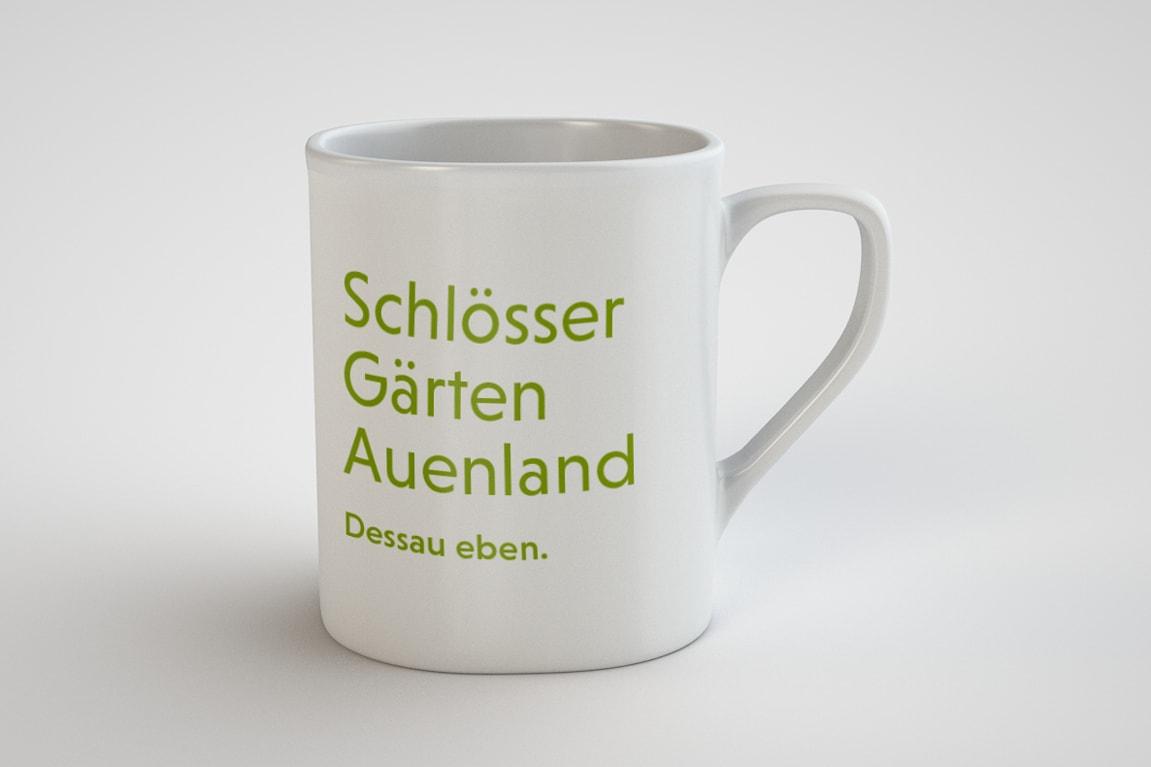 Dessau Merchandise Gartenreich Tasse