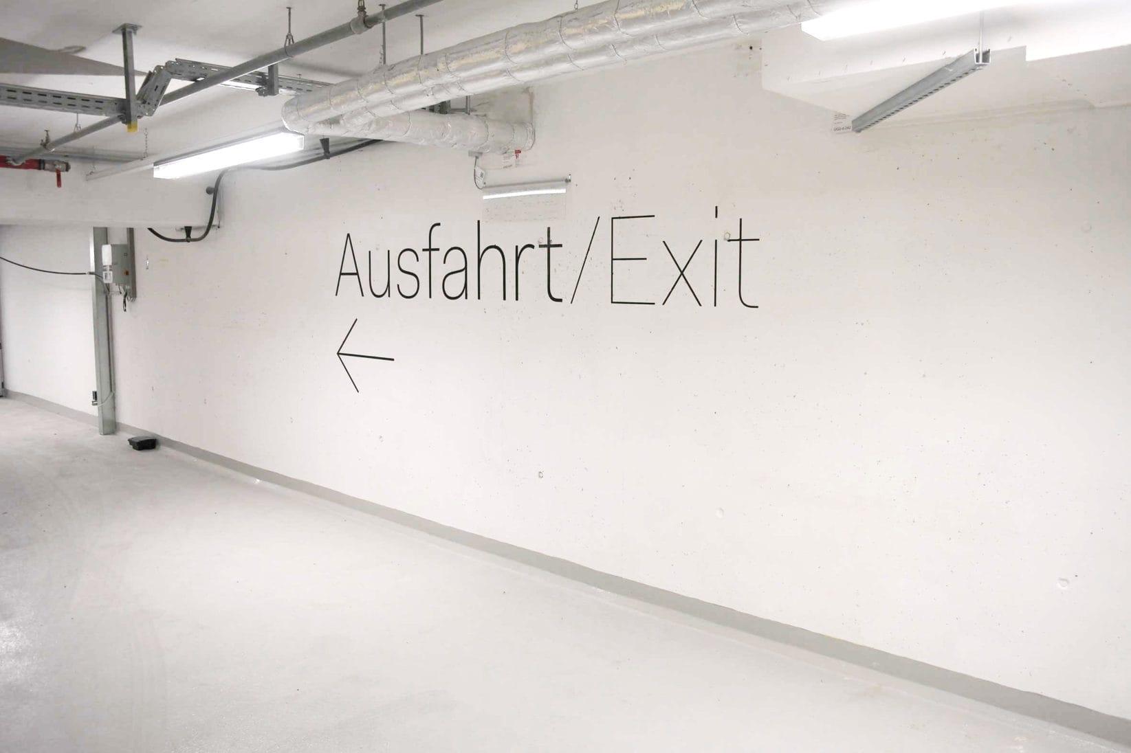 ErsteCampus Leitsystem Parkhaus