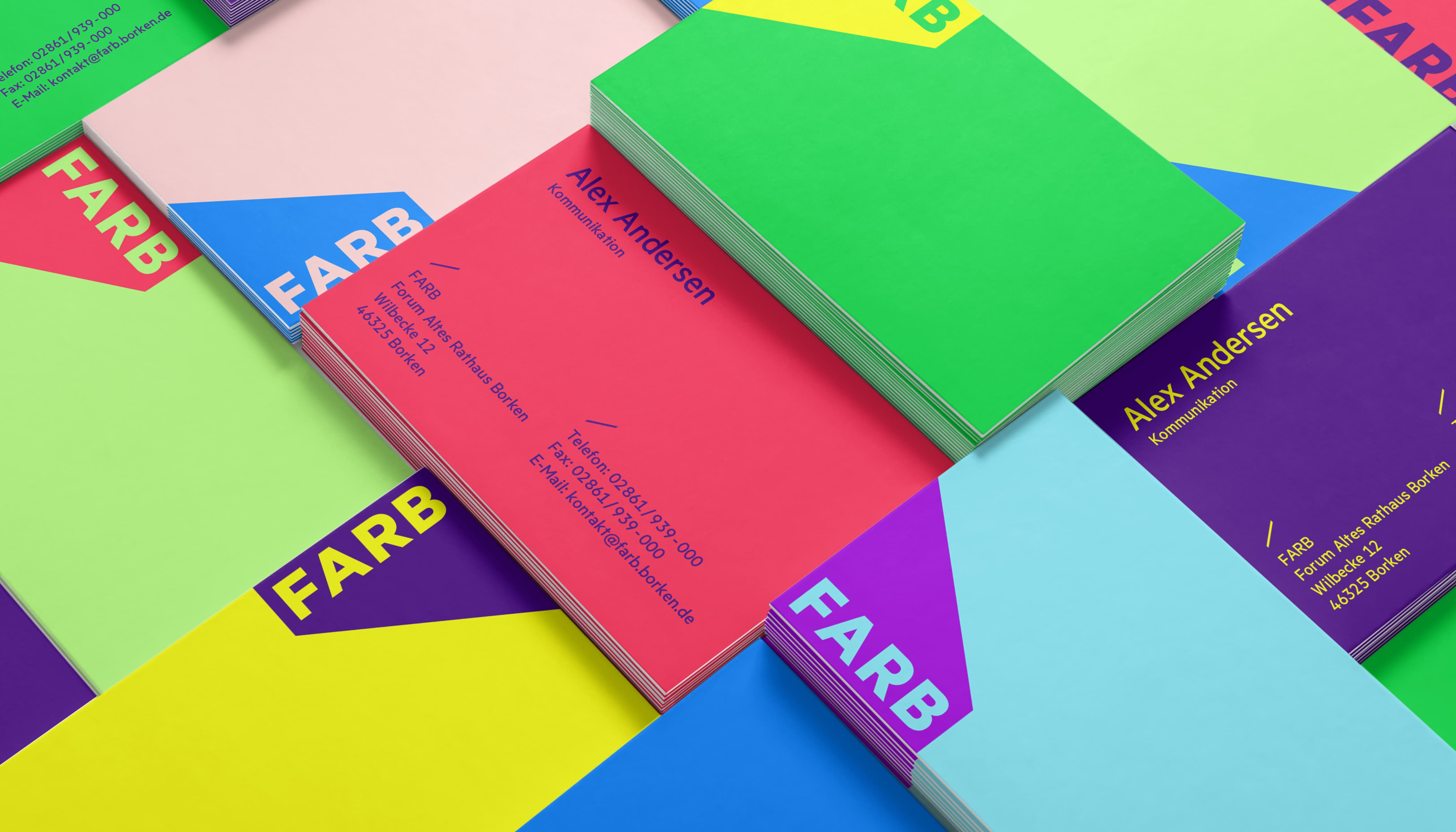FARB CD Visitenkarten