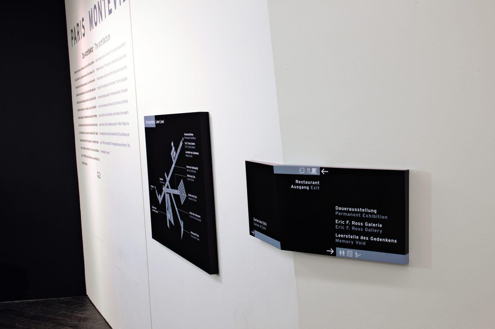 Juedisches Museum Berlin Signage Elemente
