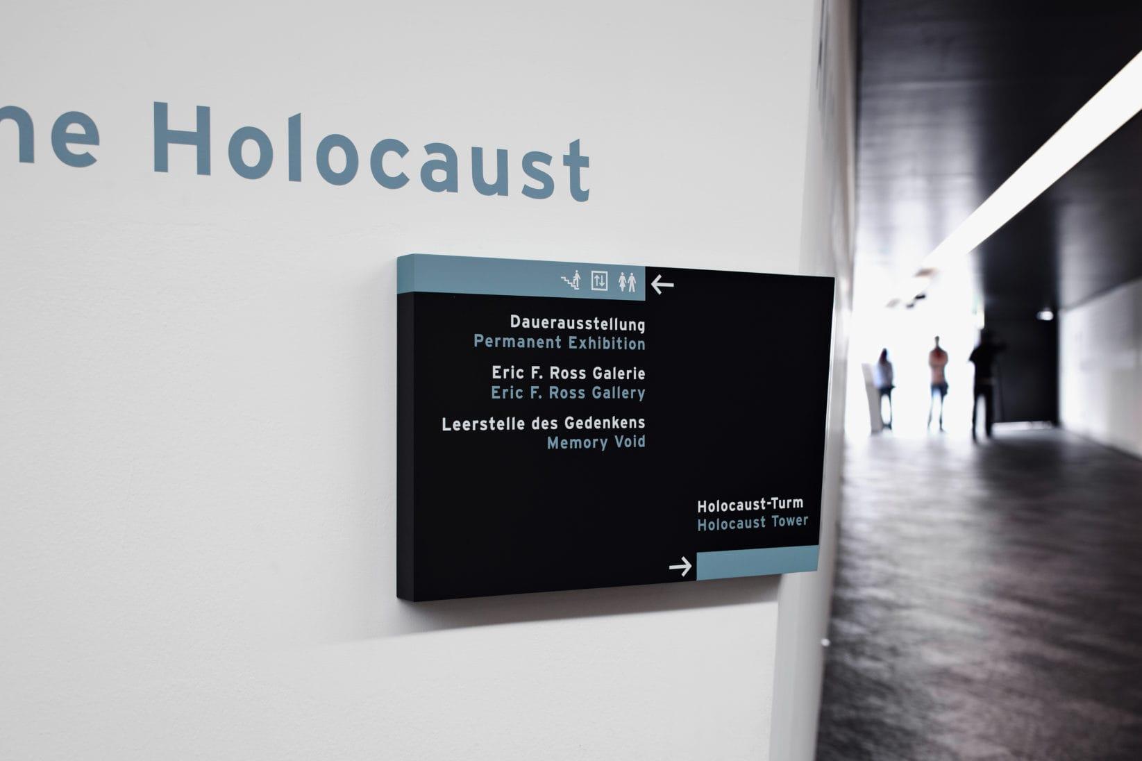 Juedisches Museum Berlin Signage Schild