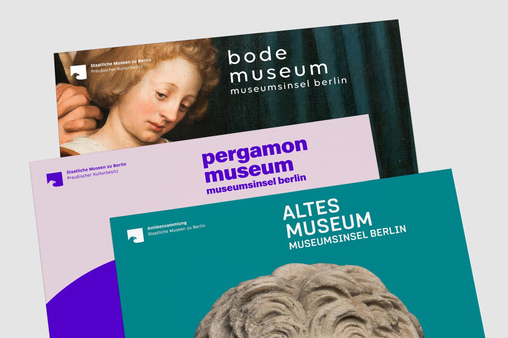 Museumsinsel Berlin Ausstellung Plakate