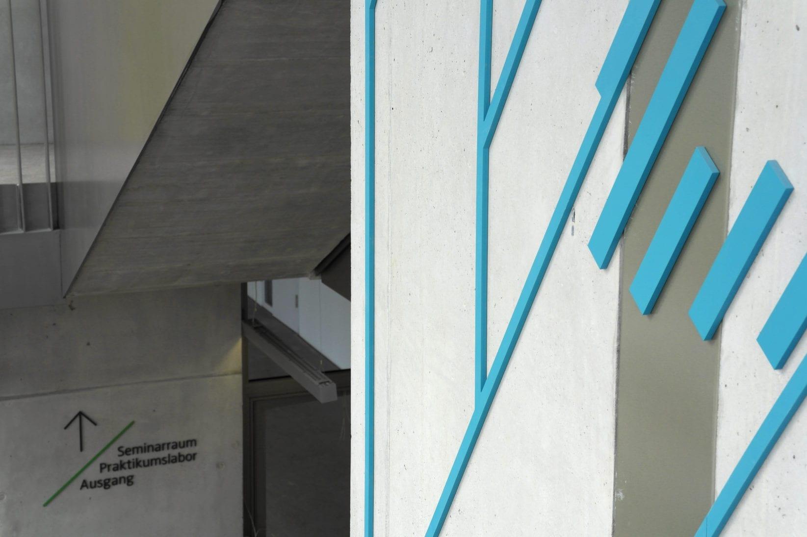 ZMBP Wegweiser Treppenhaus