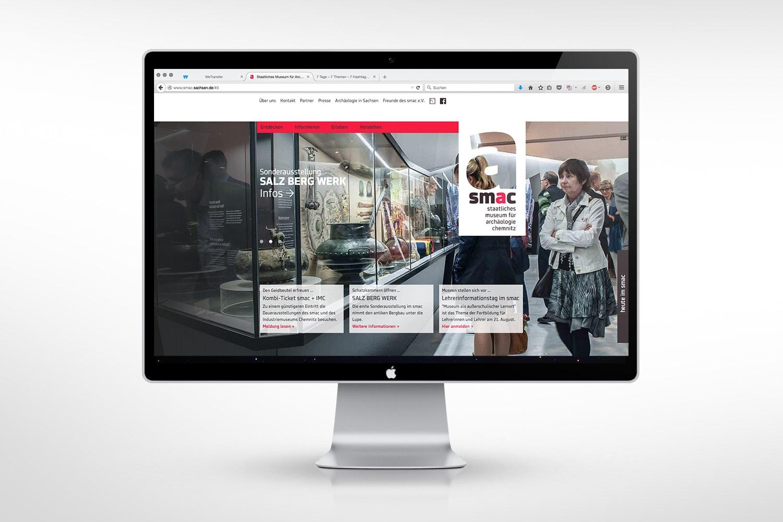 smac chemnitz corporate design anwendung website webdesign ui ux
