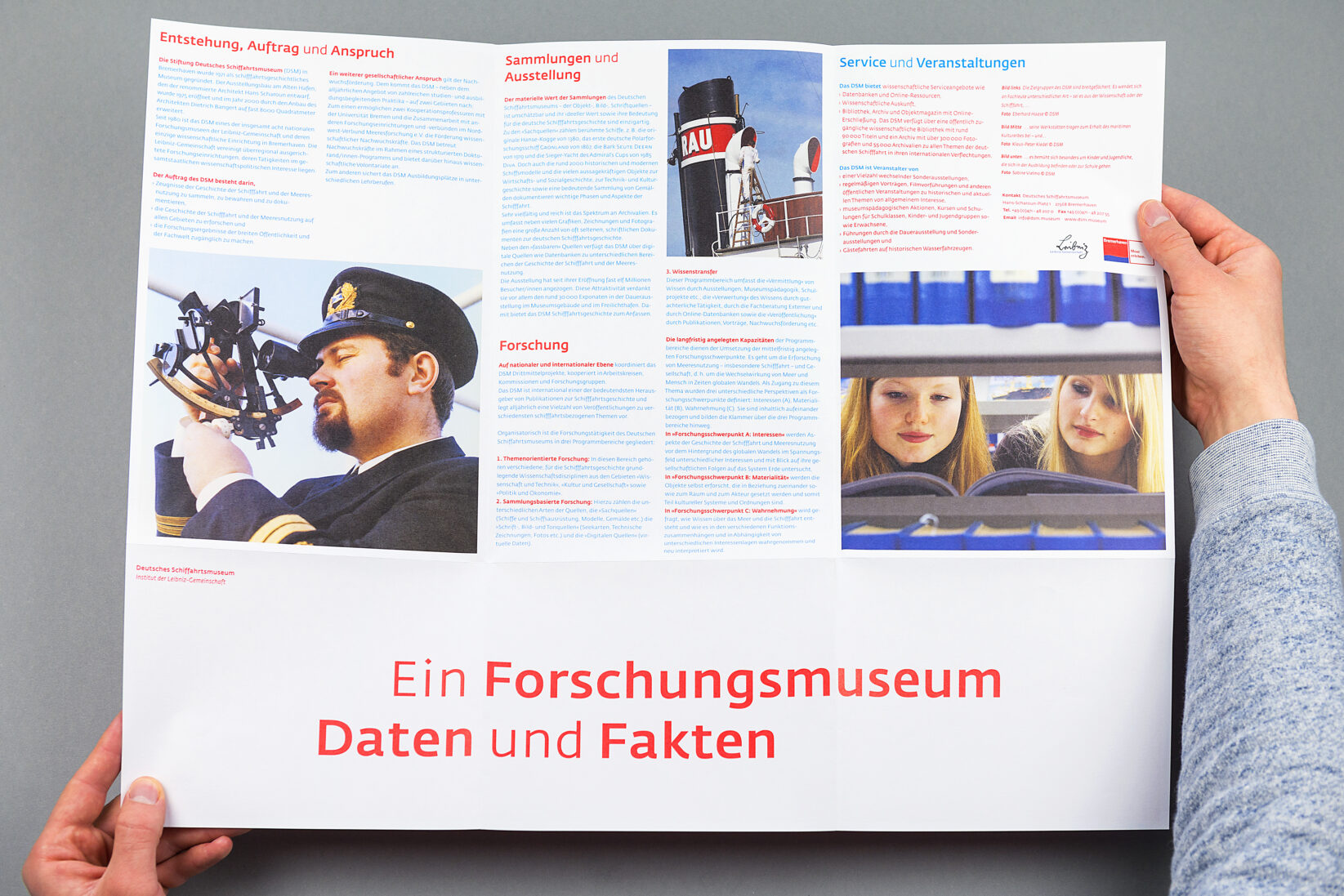 Corporate Identity DSM Broschüre Flyer Fakten Poster 5