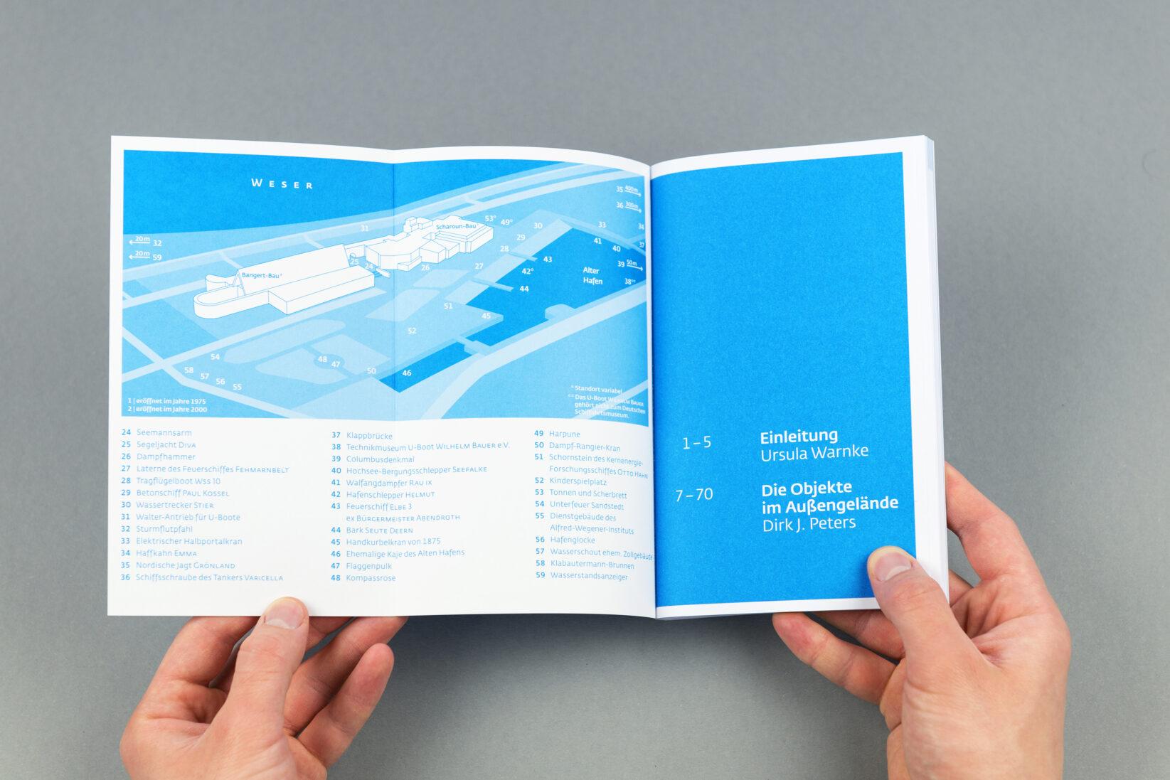 Corporate Identity DSM Broschüre Hafenführer Flyer 1