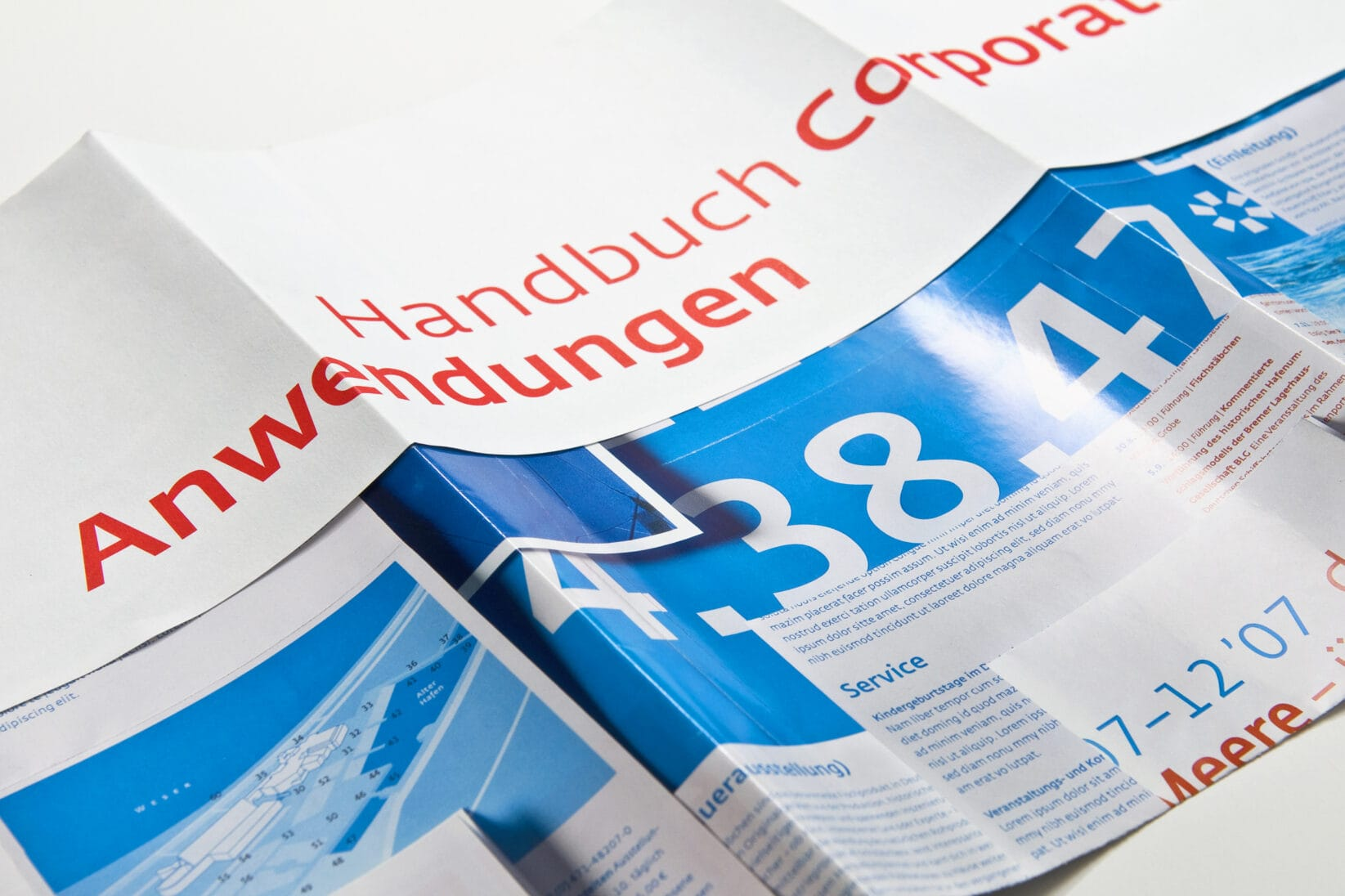 Corporate Identity DSM Styleguide Katalog