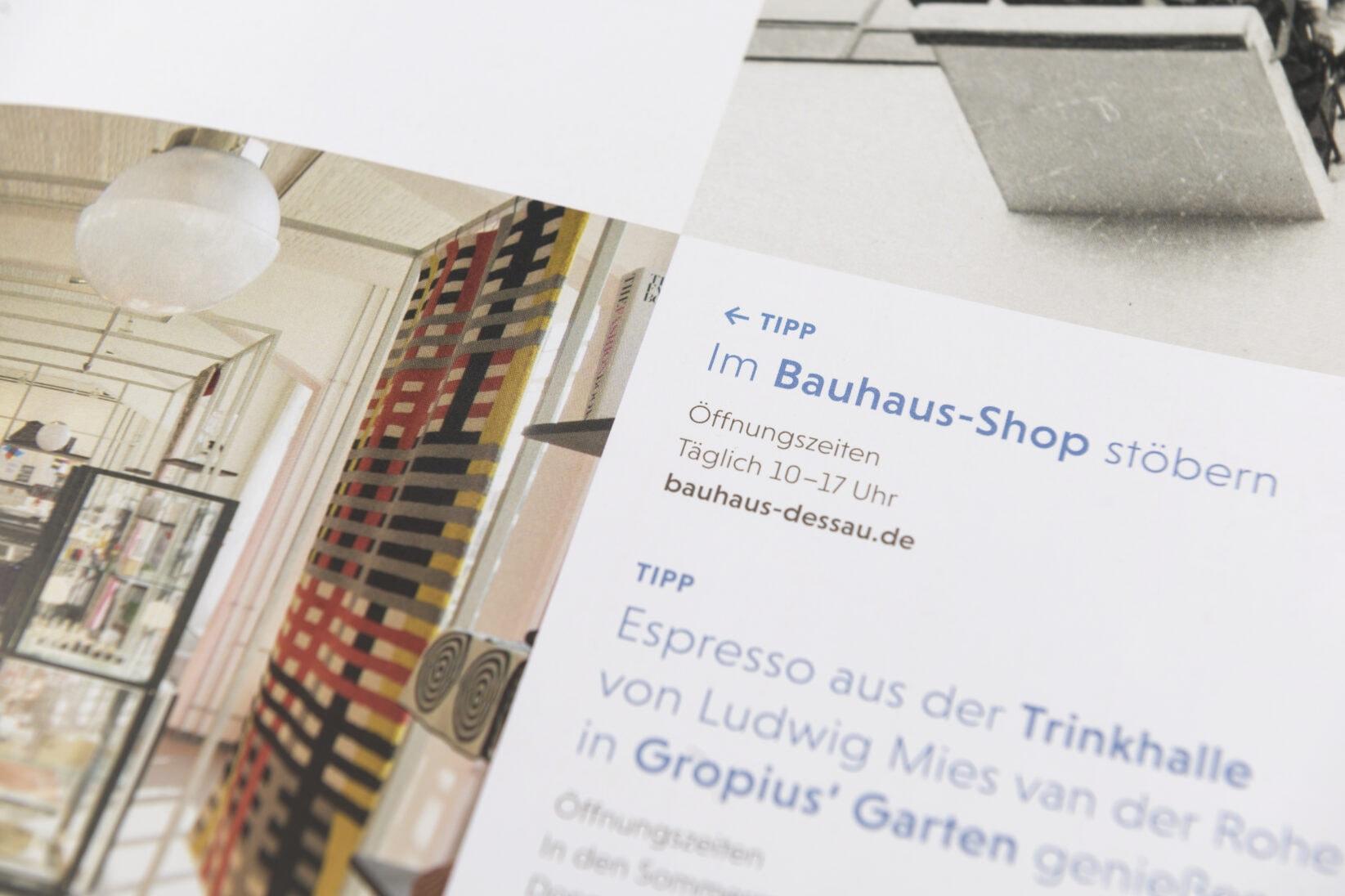 Dessau-Rosslau Coporate Design_Detail