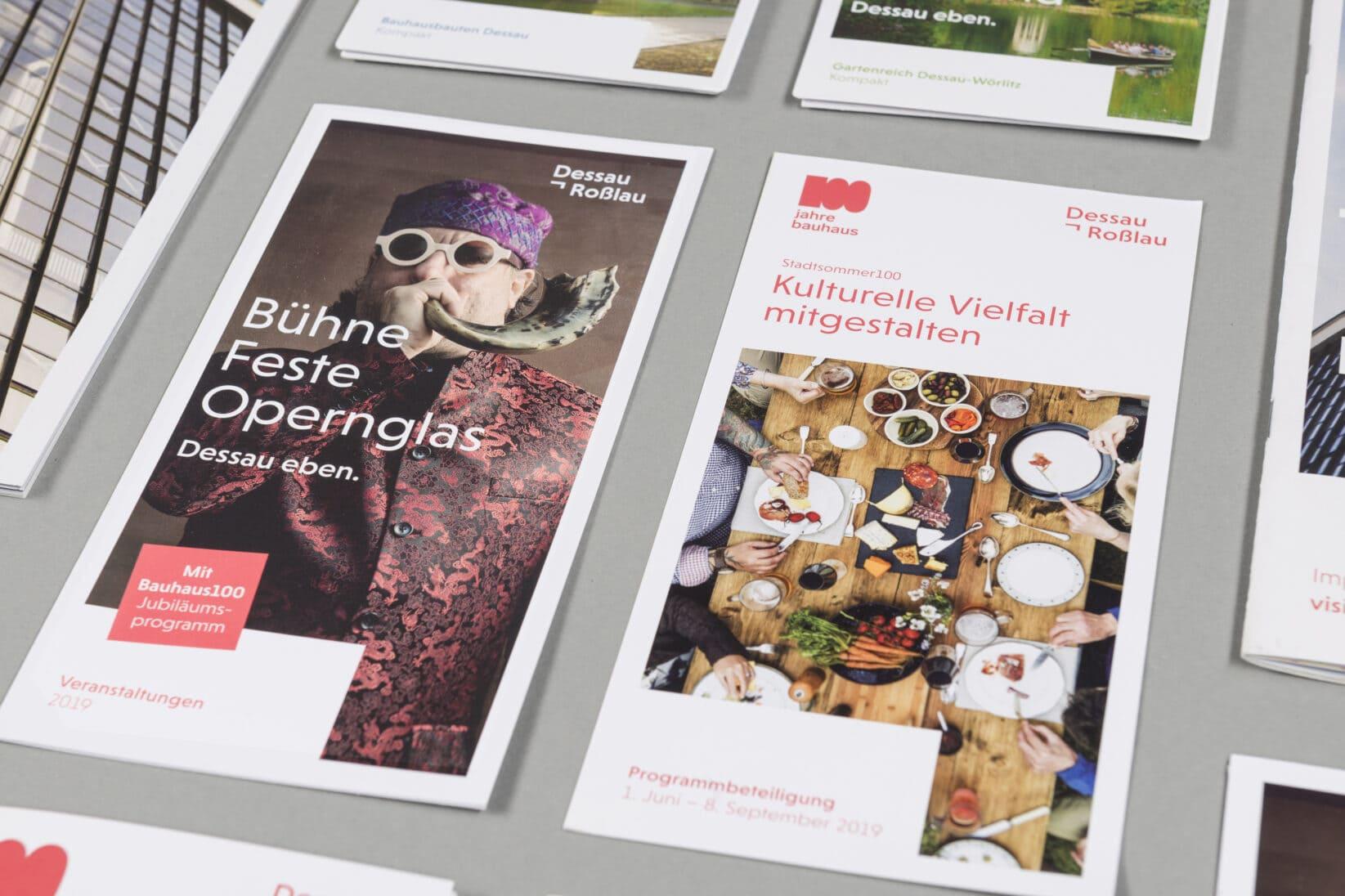Dessau-Rosslau Coporate Design Cover