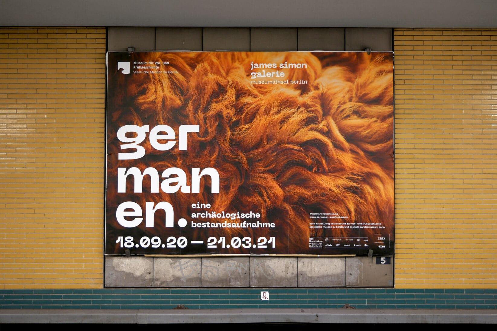 Museumsinsel Berlin Germanen Poster 18/1