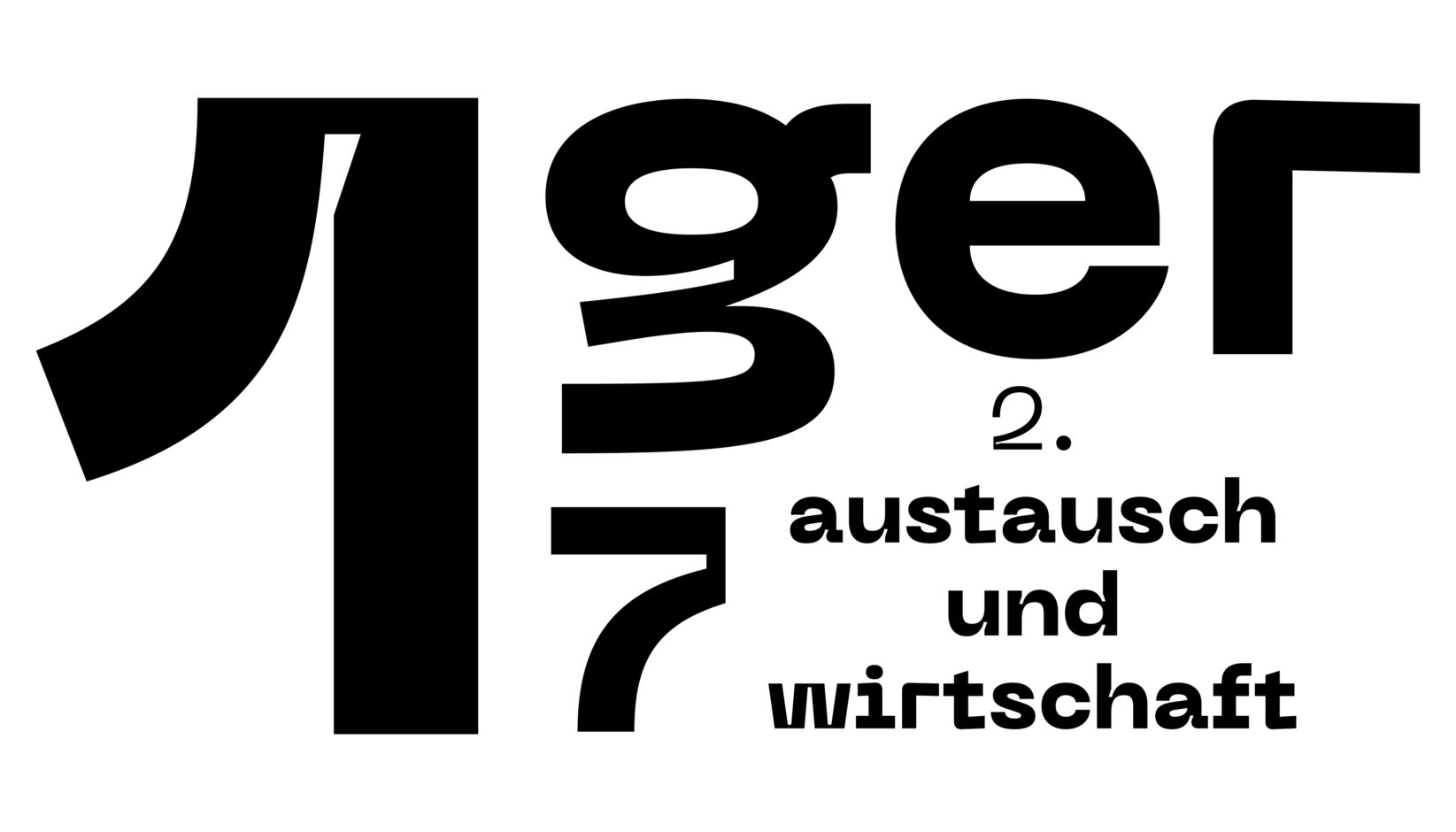 Museumsinsel Berlin Germanen Typo