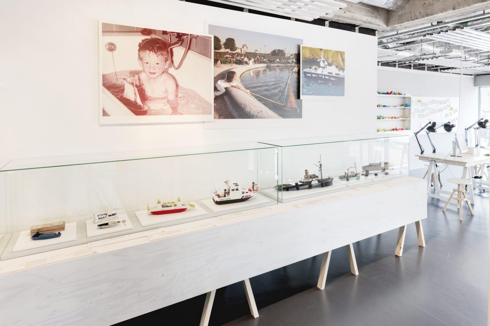 Leitsystem DSM Schifffahrtsmuseum Raum Austellungsdesign