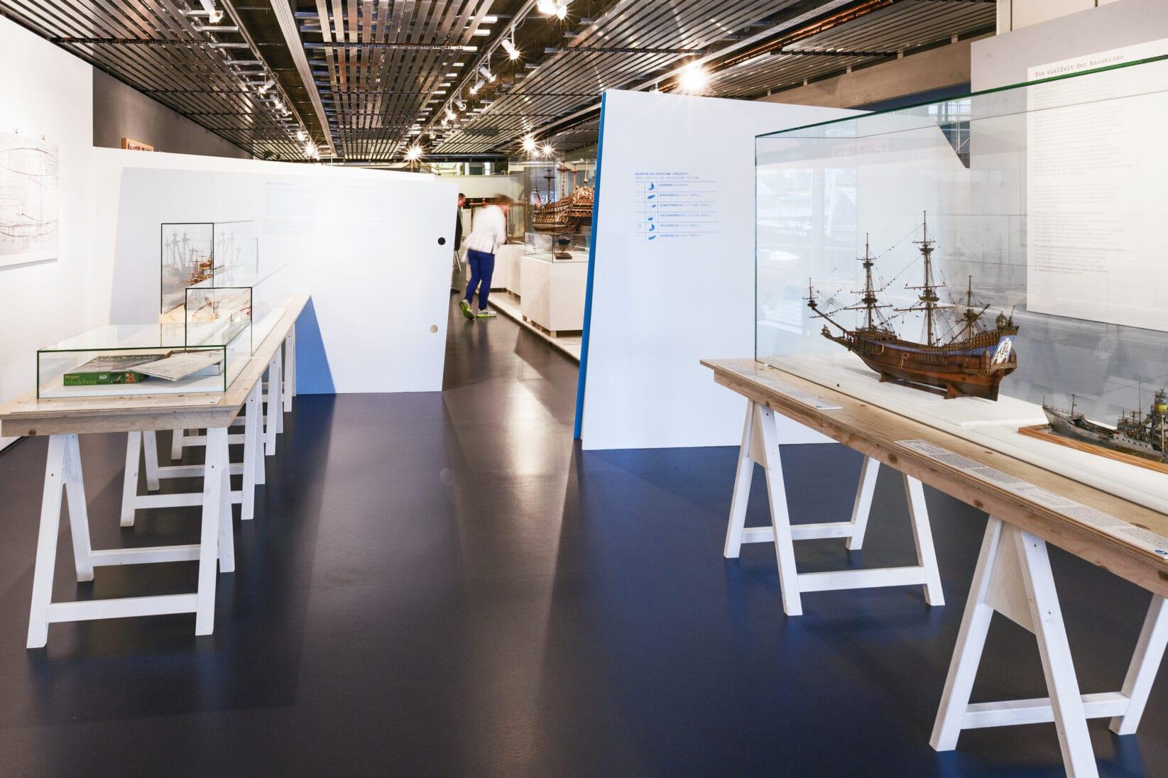 Leitsystem DSM Schifffahrtsmuseum Raum Austellungsgrafik