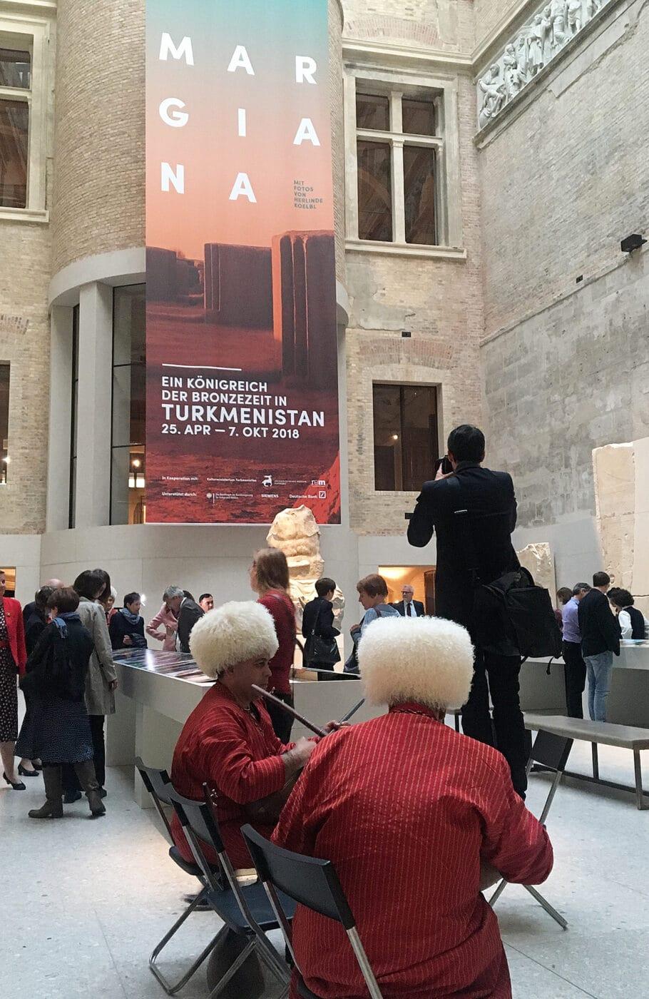 Museumsinsel Berlin MARGIANA Eröffnung Neues Museum