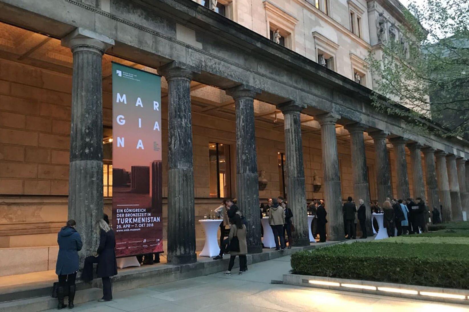 Museumsinsel Berlin MARGIANA Eröffnung Empfang