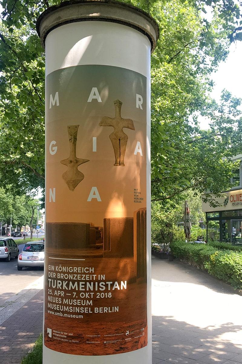 Museumsinsel Berlin MARGIANA Plakat