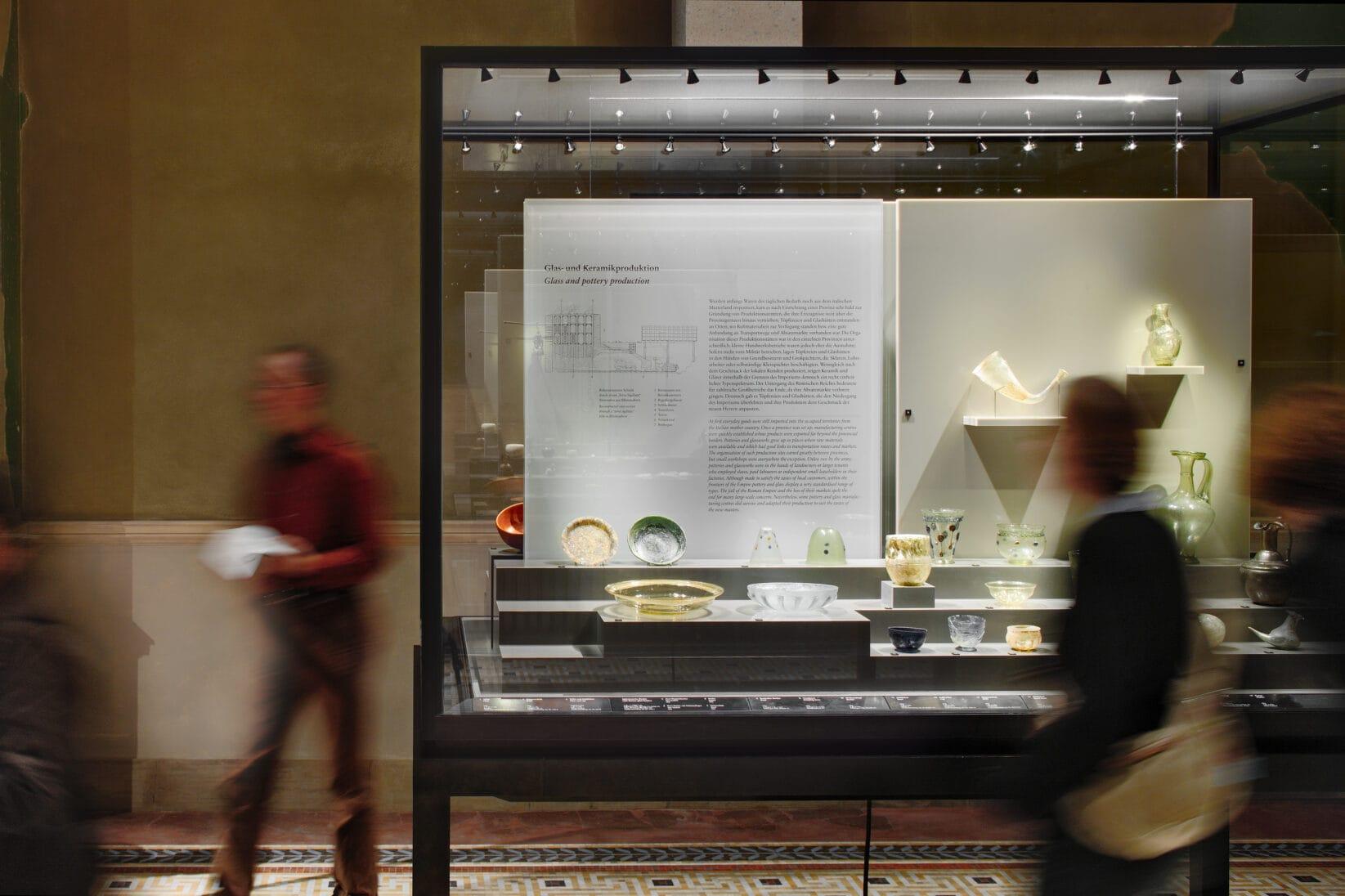 Museumsinsel Berlin Ausstellungsgrafik