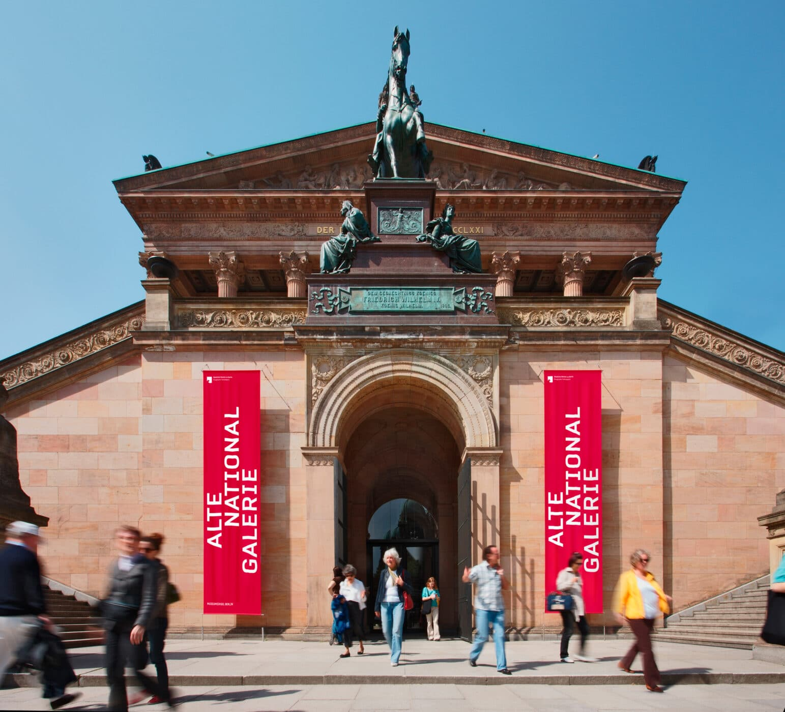Museumsinsel Berlin Leitsystem Banner
