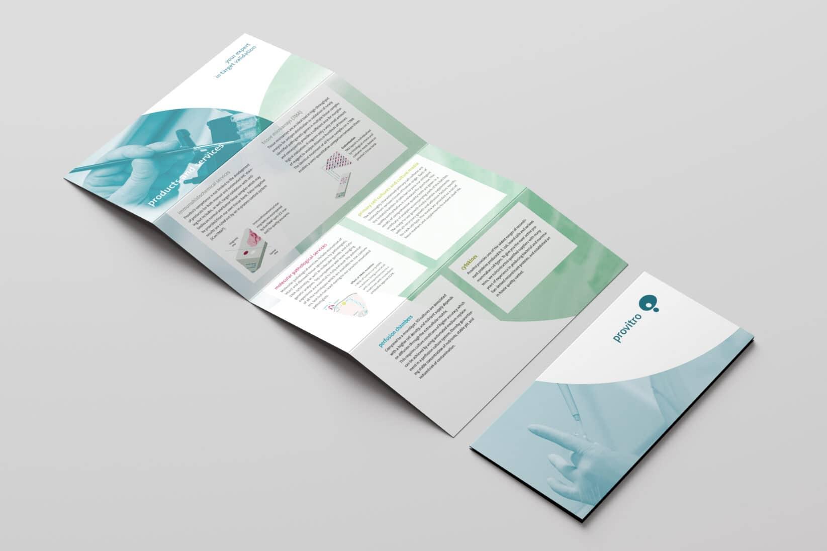 provitro Corporate Design Flyer
