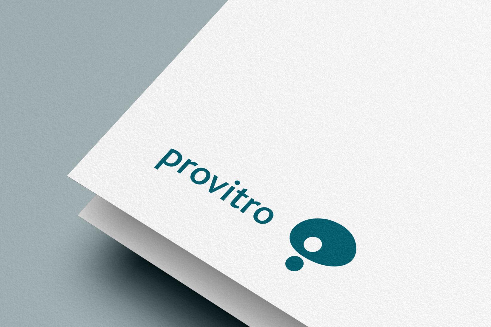 provitro Corporate Design Logo Detail