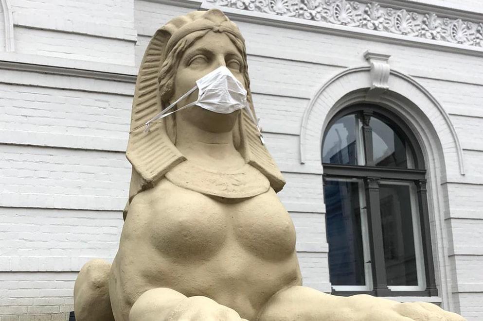 Landesmuseum Natur und Mensch Oldenburg – Sphinx mit Maske