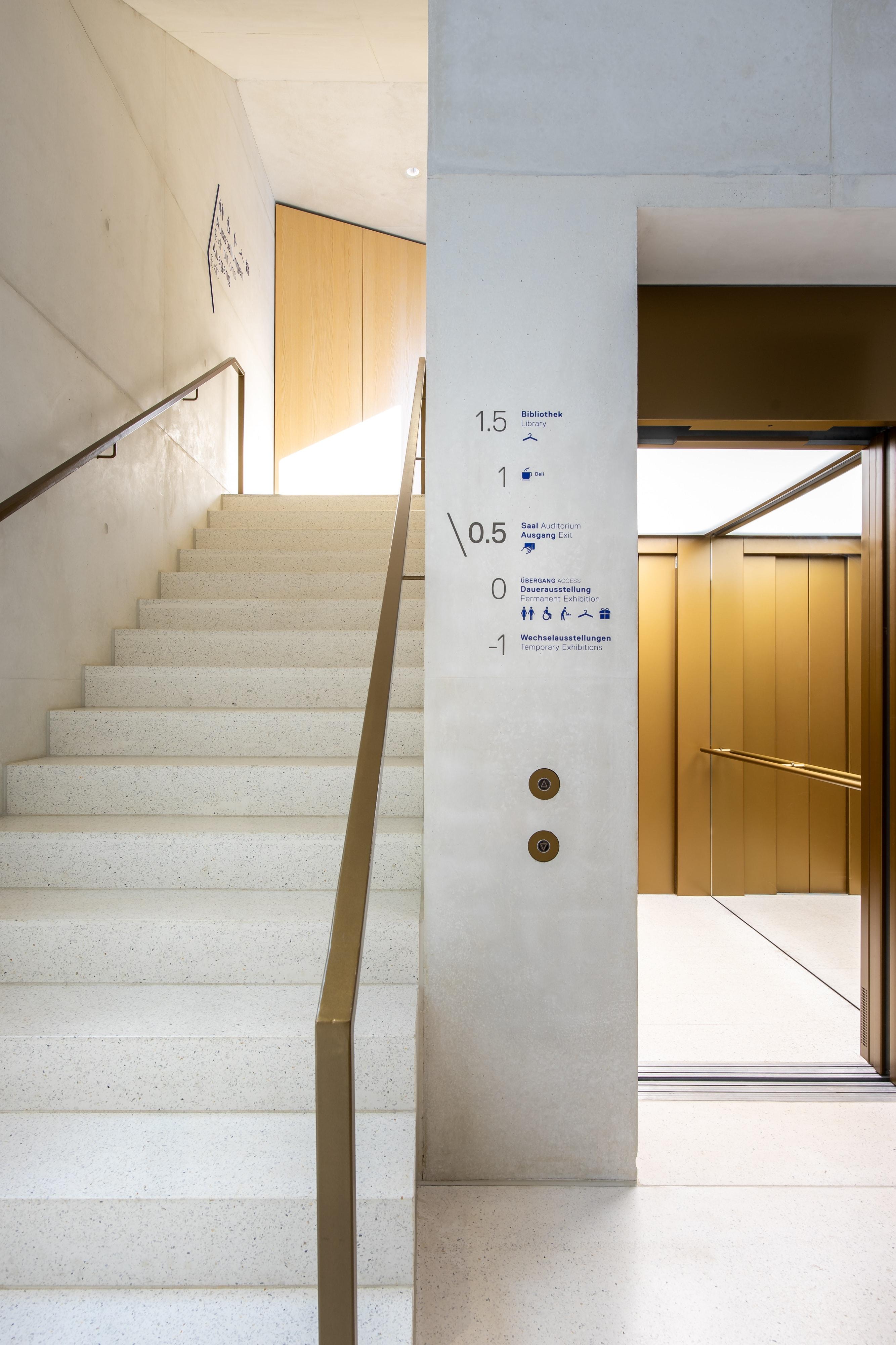JMF Leitsystem Ebenenuebersicht Aufzug