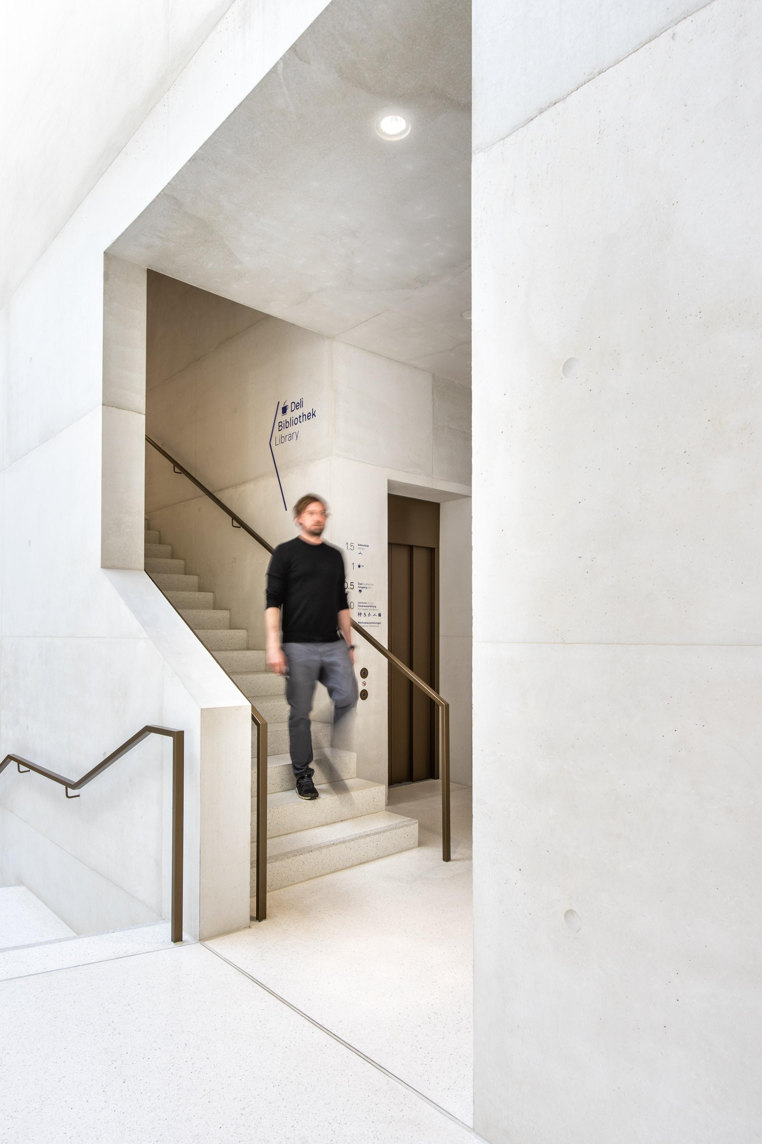 JMF Leitsystem Treppe